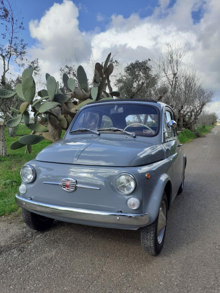 Fiat 500 vorne