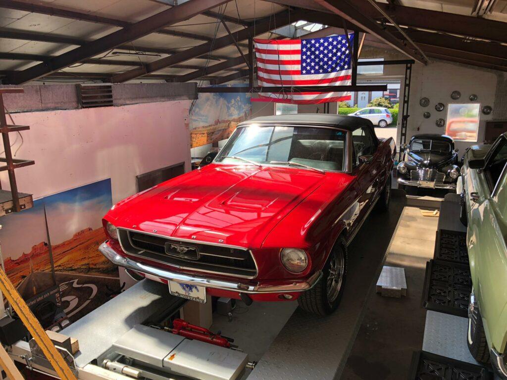 Mustang Hebebühne